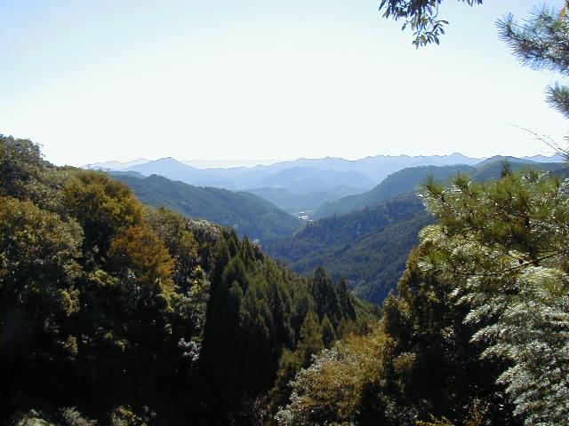伏拝からの眺め