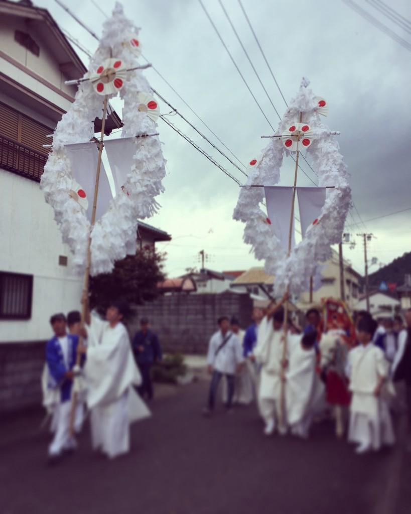 熊野速玉大社例大祭、神輿渡御式