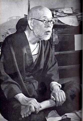 Saitō Mokichi photographed by Shigeru Tamura.jpg